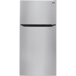 23.8-cu Ft Top-freezer Refrigerator With Ice Maker (stainless Steel) Energy Star - LG