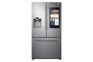 24 Cu. Ft. Family Hub™ 3-door French Door Refrigerator In Stainless Steel - Samsung