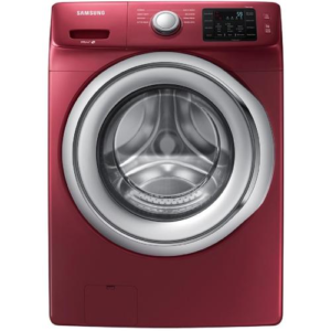 4.5-cu Ft High Efficiency Stackable Front-load Washer (merlot) Energy Star - Samsung