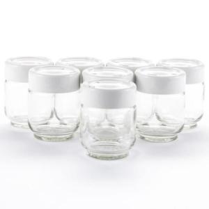 Extra Glass Jars For Automatic Yogurt Maker - Euro Cuisine