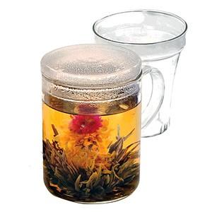 Glass Tea Maker Mug With Infuser - Primula
