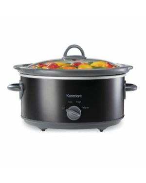 Kenmore Kmoppsc 5 Qt. Slow Cooker, Black - Crock-pot