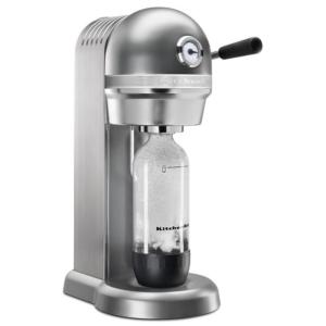 Kitchenaid Kss1121cu Sparkling Beverage Maker Powered By Soda Stream®, Contour Silver