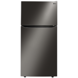 Lg Ltcs24223d 23.8 Cu. Ft. Top Freezer Refrigerator With Ice Maker - Black Stainless Steel