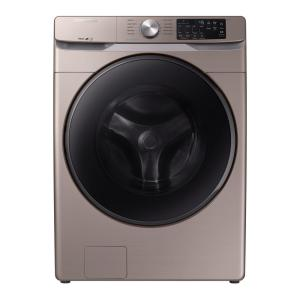 Samsung 4.5 Cu. Ft. High-efficiency Champagne Front Load Washing Machine With Steam, Energy Star