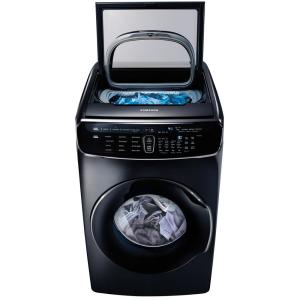 Samsung 6.0 Total Cu. Ft. High-efficiency Flexwash Washer In Black Stainless