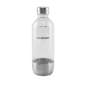 Sodastream® Classic 1-liter Carbonating Bottle In Stainless Steel