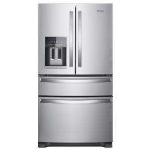Whirlpool 25 Cu. Ft. French Door Refrigerator In Fingerprint Resistant Stainless Steel