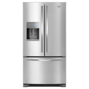 Whirlpool 25 Cu. Ft. French Door Refrigerator In Fingerprint-resistant Stainless Steel